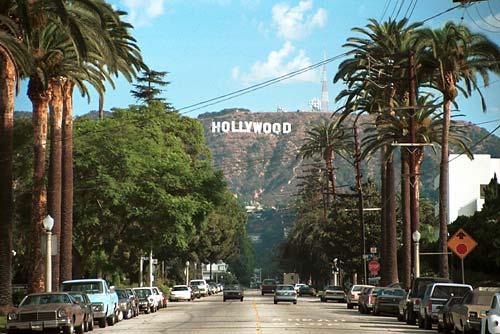 Kết quả hình ảnh cho hollywood street