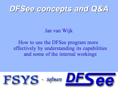 DFSee Concepts