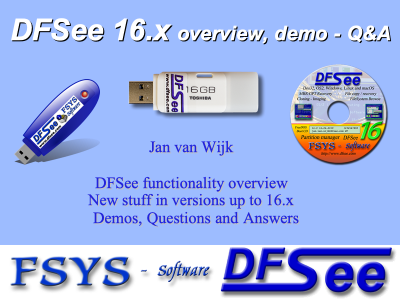 DFSee Presentations