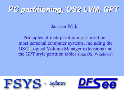 PC Partitioning